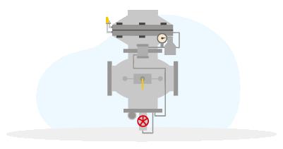 Регулятор давления газа (GasTeh) 122-BV, 125-BV, 127-BV, 135-BV, 143-BV, 129-NP и пр.