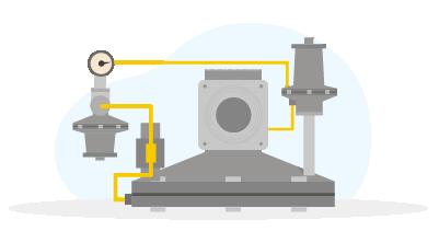 Регулятор давления газа (РДНК, РДУ, РДСК, РДГ, РДБК, РДП, РДК, РДГБ, РД-М, РД-К, РД-Л, РД-И, РД-С, РД-А, РД-Э)